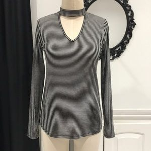 Long Sleeve Cut Out